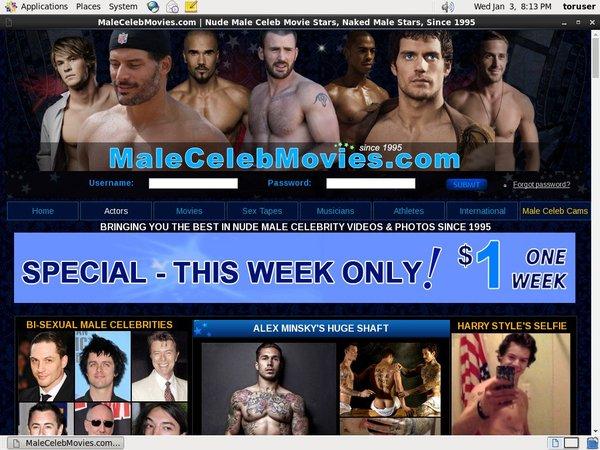 Male Celeb Movies Discount
